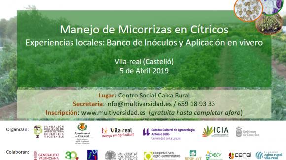 Jornada sobre el Manejo de Micorrizas en Cítricos