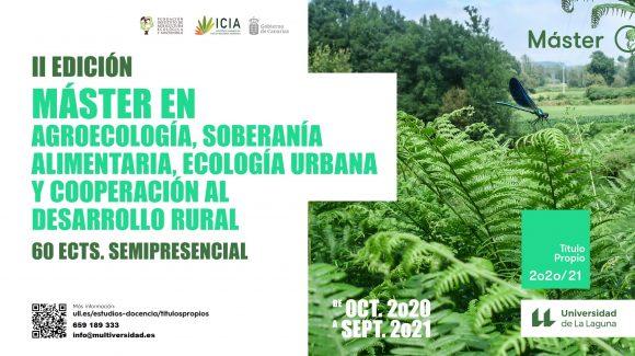 Máster Propio en Agroecología, Soberanía Alimentaria, Ecología Urbana y Cooperación al Desarrollo Rural