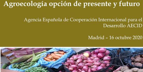 """Jornada """"Agroecología, opción de presente y futuro"""""""